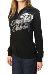 Metal Mulisha Hot Ride Zip Hoodie Black  Our Price: €44.00