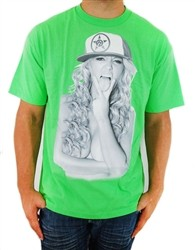 Unit Linguistic T Shirt Lime Green  Price €22.99