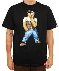 Breezy Excursion Tupac Bear T Shirt Black  Our Price: €32.00