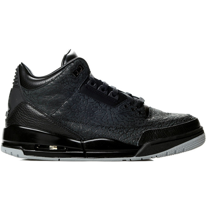 "Air Jordan 3 Retro ""Black Flip"" Model: Air Jordan , Air Jordan 3 (III) Colorway: Black / Metallic Silver Style Code: 315767-001 Release Date: December 3, 2011 News & Updates: Air Jordan Buy It Now: Available now onThugLifeSideThugPassion"