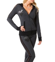 Metal Mulisha Francie Hoodie Grey  Our Price: €52.00