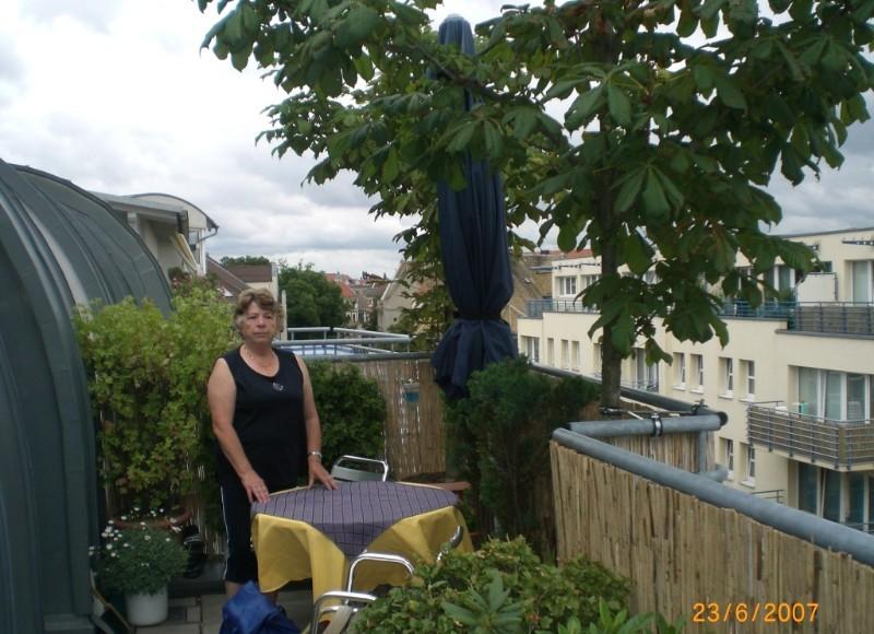 Mike´s Kastanien auf der Terrasse