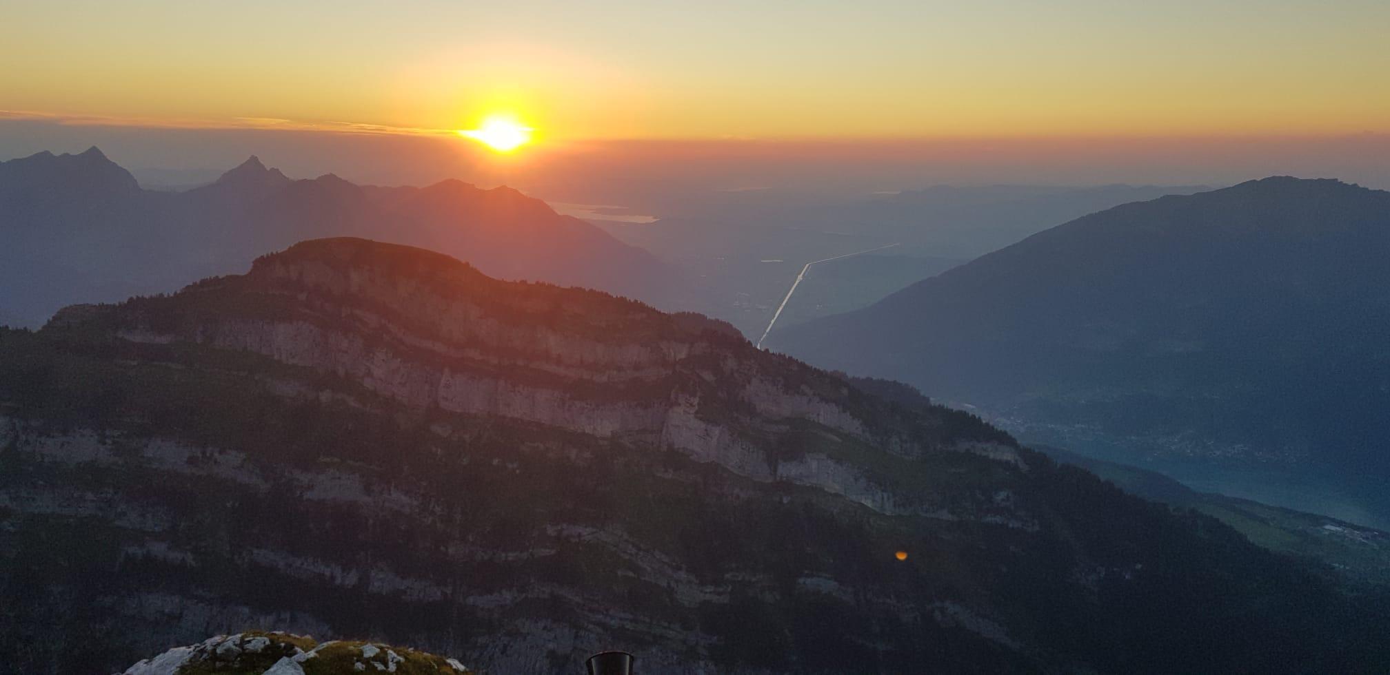 und die Abendsonne verabschieden (Fotos Res Menzi)