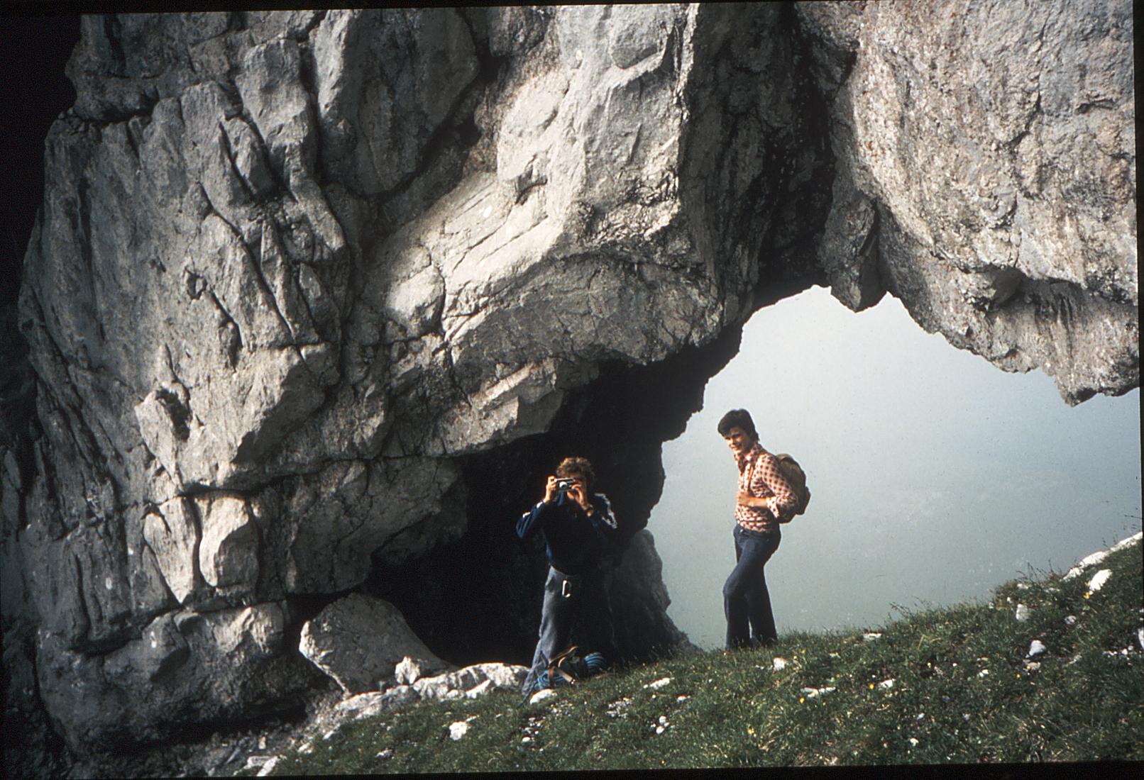 Vor langer Zeit im Mürtschenloch. Christian Dürst und Georg Küng