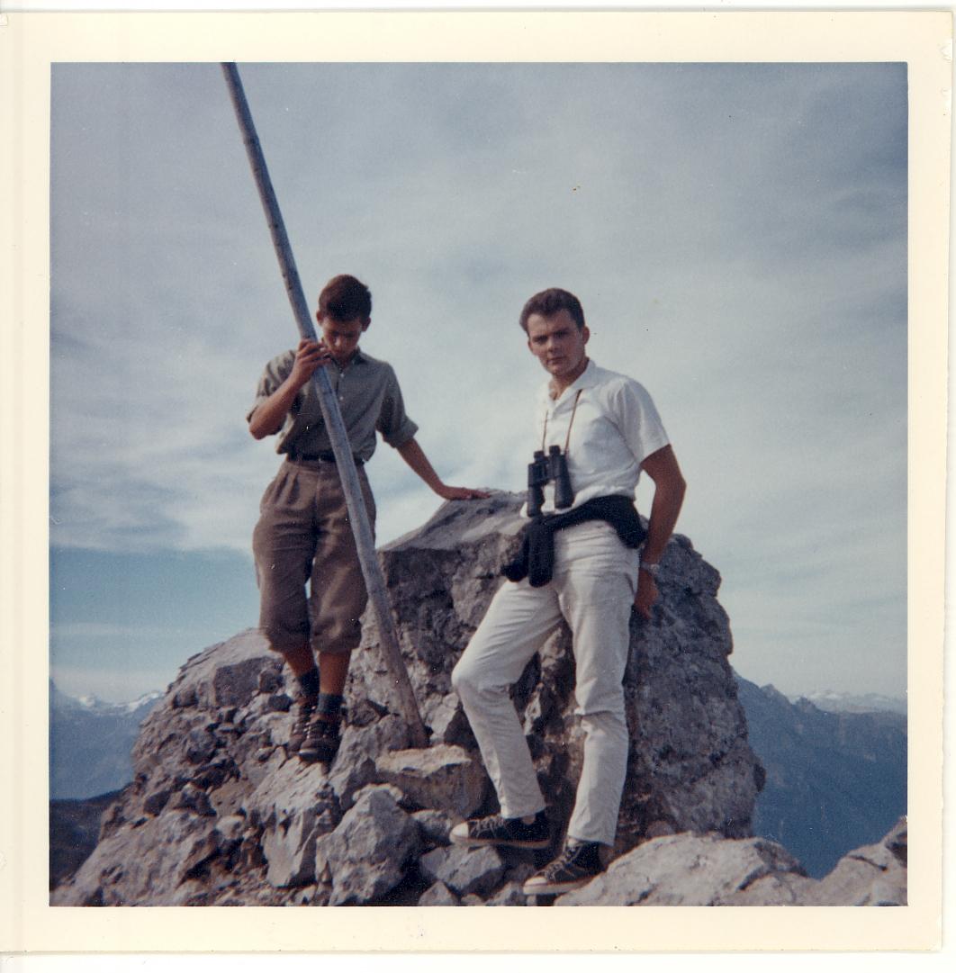 Auf dem Fulengipfel 2410 m.ü.M