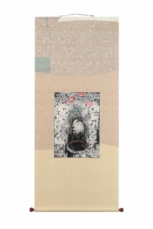 今村由男先生 ルドンに捧ぐー春の謳歌 装:吉澤白雲堂