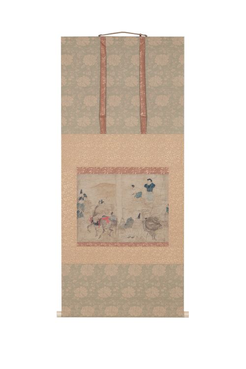 加藤清美 自画自装 伴大納言絵巻模写 装:加藤聴松堂