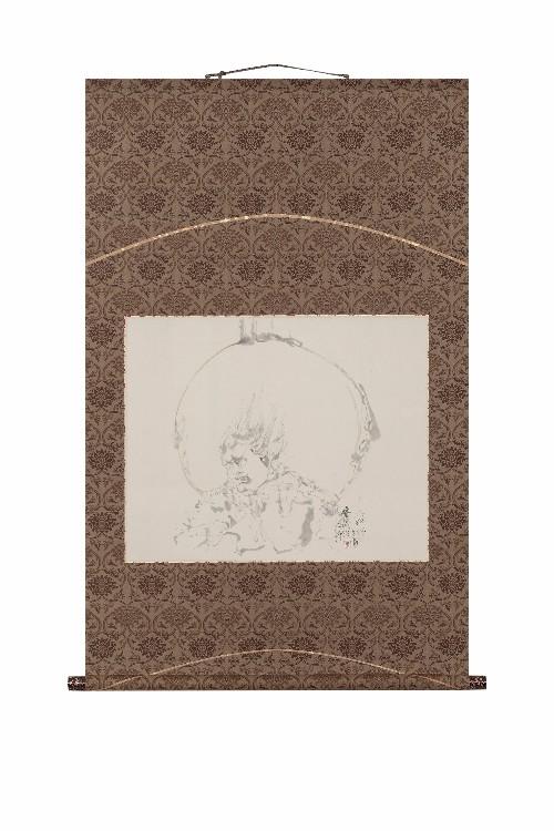 出岡 実先生 十二神将のうち安底羅大将 装:今泉呉泉堂