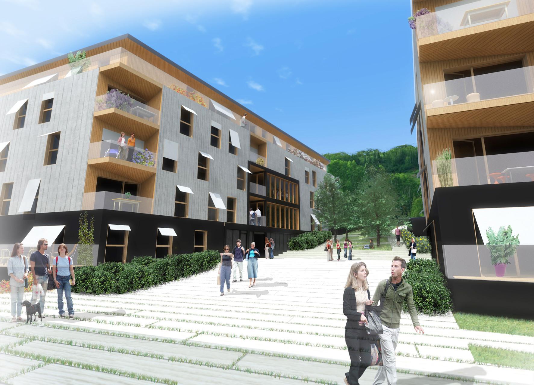 73 logements étudiants à Lausanne