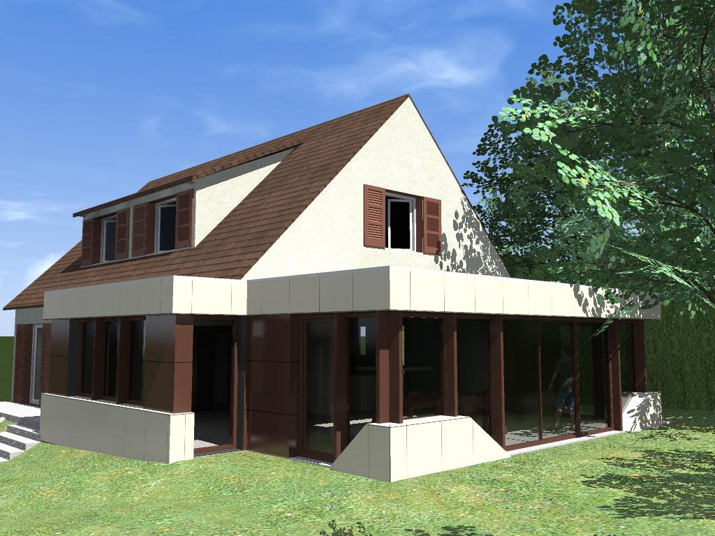 Extension d'une habitation individuelle à Créteil