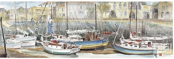 © Marie Françoise Bellonnet - Aquarelliste lithographe en Charente M.