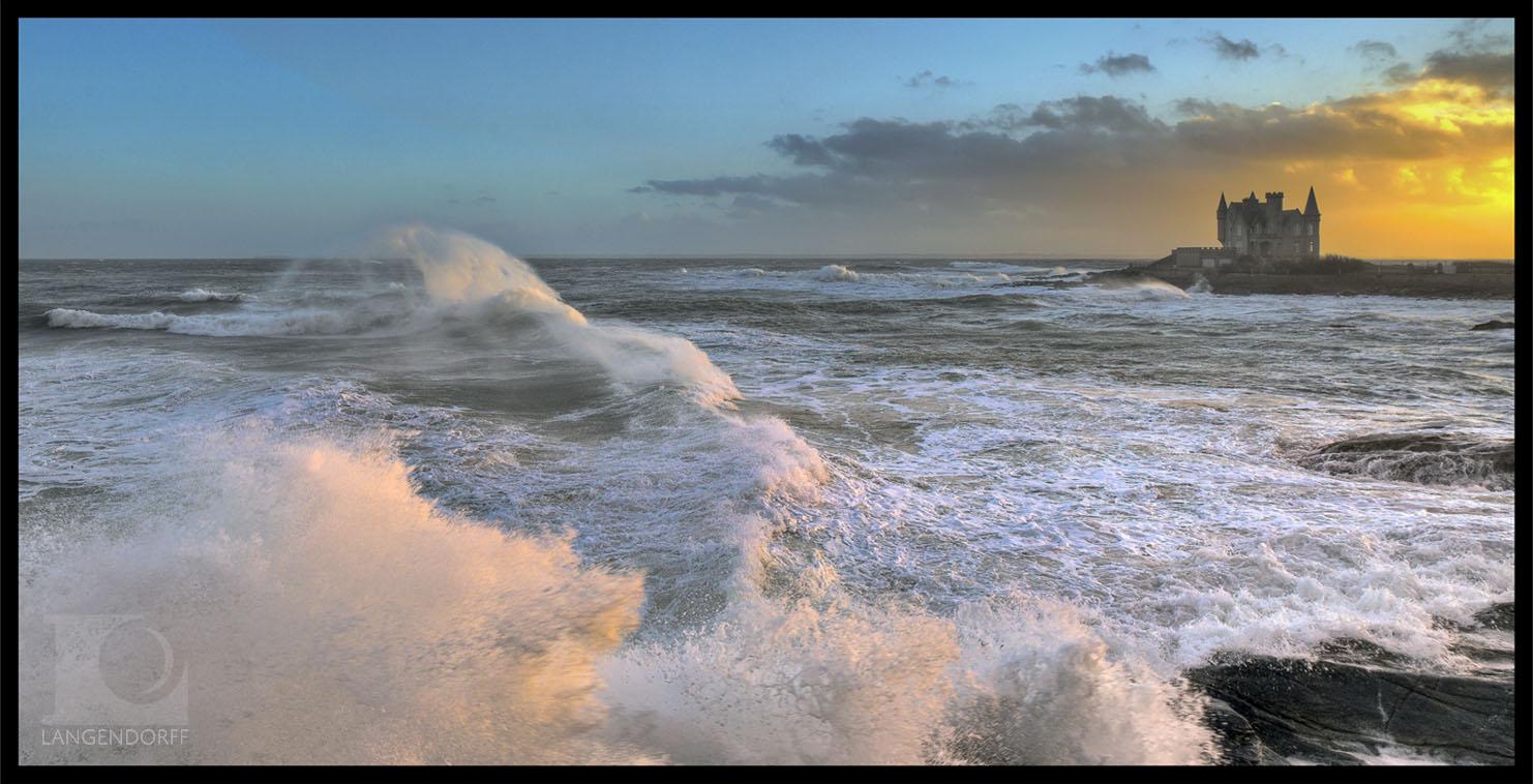 Gros temps sur Quiberon - Morbihan