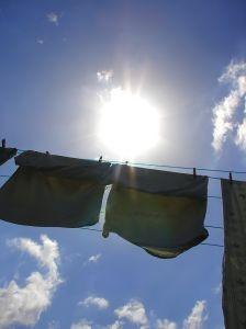 いまから私はお洗濯です♪