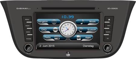 AL-CAR Navigationsgerät / Naviceiver EASINAV Drive für Fahrzeuge des Typs IVECO Daily