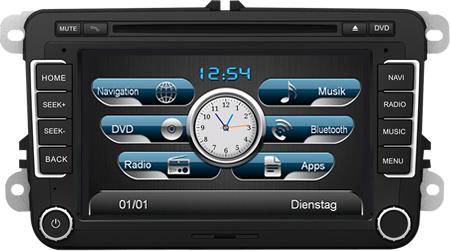 AL-CAR Navigationsgerät / Naviceiver EASINAV Drive für Fahrzeuge der Marken Volkswagen, Seat und Skoda