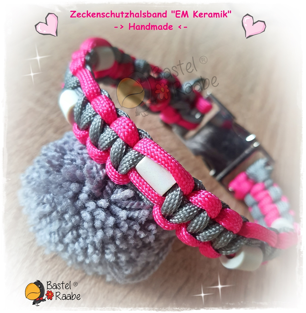 """Zeckenschutzhalsband """"EM-Keramik"""""""