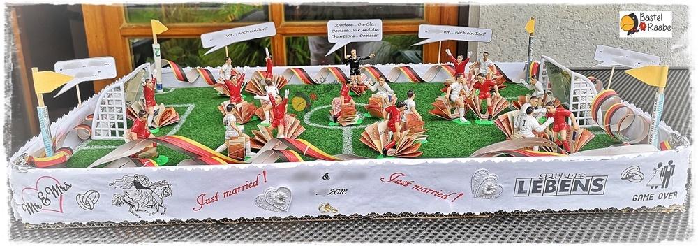 Geldgeschenk Fur Fussballfans Bastel Raabes Webseite