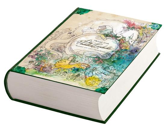 """552 Seiten dick - die neu illustrierte Ausgabe von """"Die Unendliche Geschichte"""""""