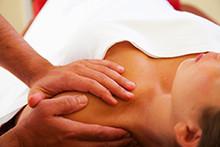 Fasziendistorsionsmodell bei Therapie plus für Schmerztherapie