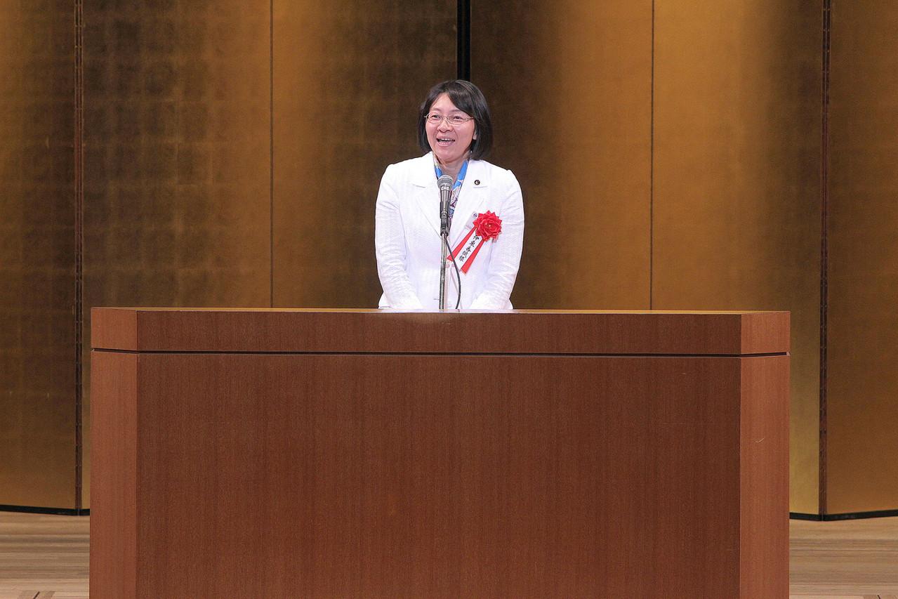 祝辞 倉敷市長 伊東香織様