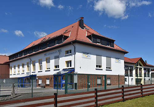 Das 1929-1983 für die Zigarrenherstellung genutzte Gebäude (Ludwig-Rinn-Str. 1-3), heute Firma Hof