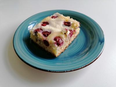 Quark-Kirsch-Kuchen, glutenfrei