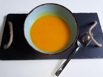 Rezept: Kürbis Kokos  Suppe - glutenfrei