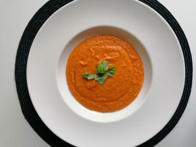 glutenfreie Kartoffel-Linsen-Suppe