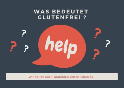Was bedeutet glutenfrei