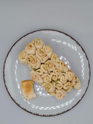 Rezept: Zupfbrot mit Kräutern, glutenfrei