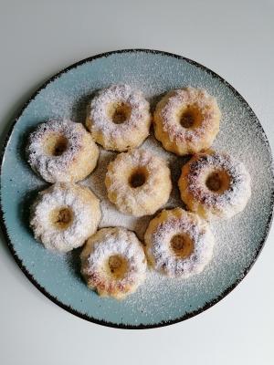 glutenfreie Minigugelhupfe