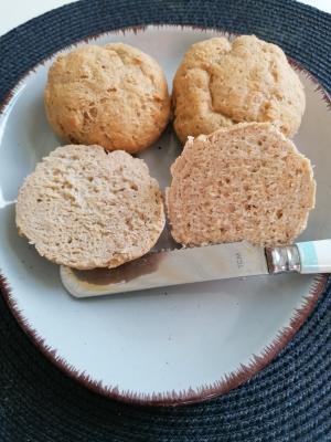 Brötchen mit Mandelmehl, glutenfrei