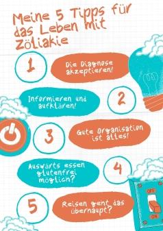 Diagnose Zöliakie, 5 Tipps