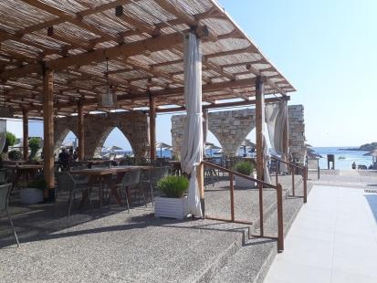 Restaurant, Hotel Eden Roc, Rhodos