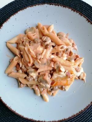 Rezept: Rigatoni al Forno, glutenfrei