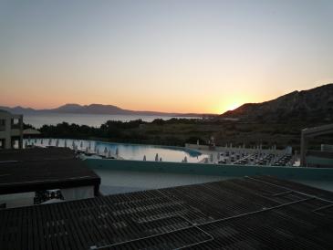 Hotel Blue Lagoon Village, Blick vom Grillrestaurant