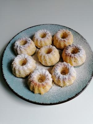 Rezept: Minigugelhupf, glutenfrei