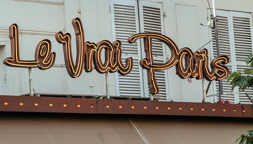 Hausfassade Montmartre