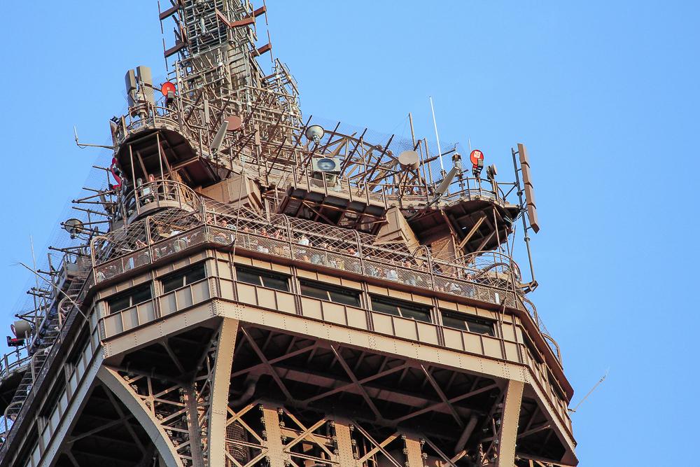 Oberste Plattform Eiffelturm