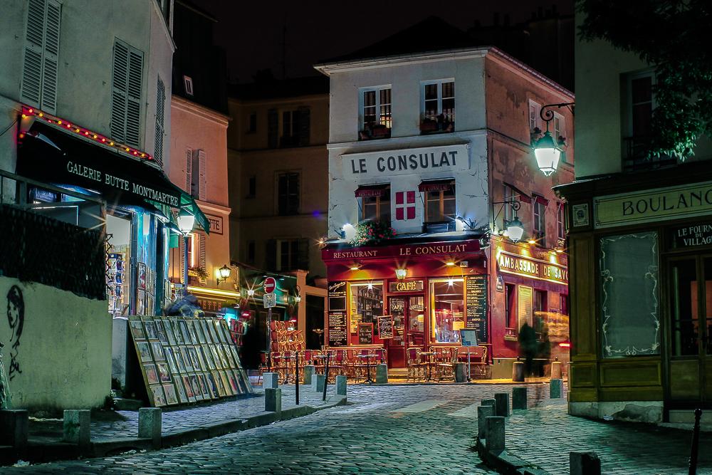 Abendstimmung in Montmartre