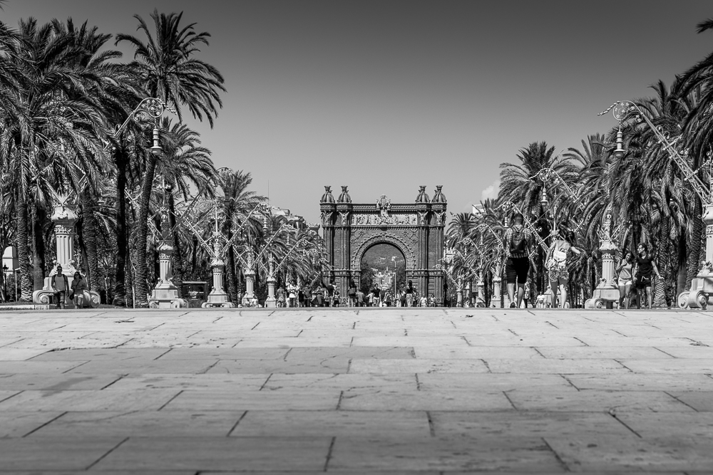 Arc de Triomf, Parc de la Ciutadella, in Barcelona