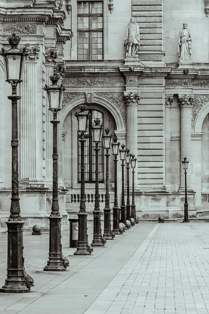 Innenhof Louvre