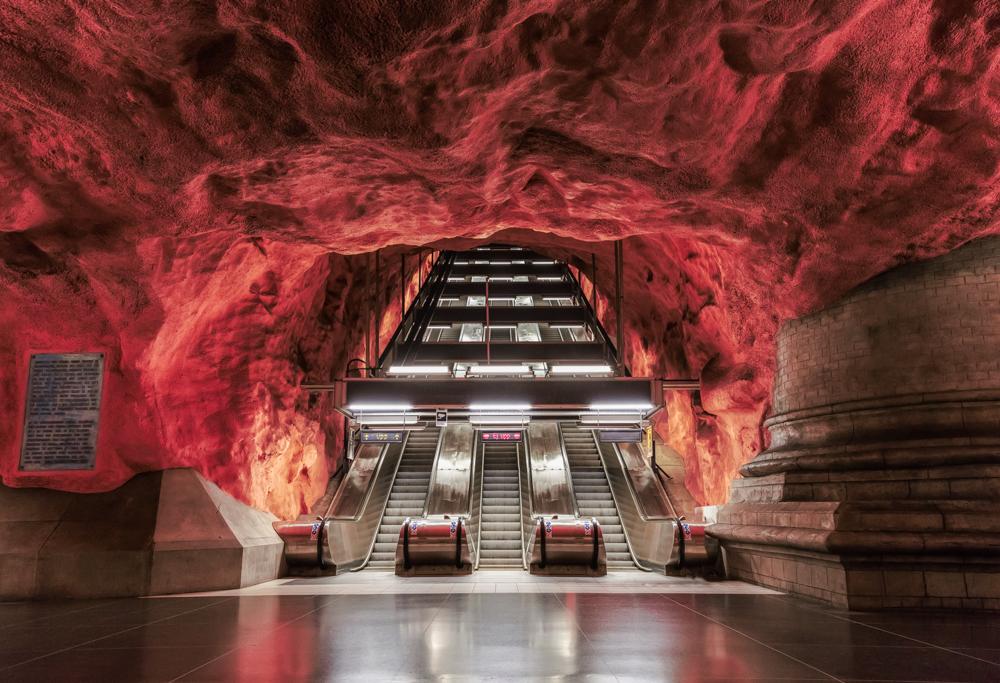 Tunnelbana Station Rådhuset
