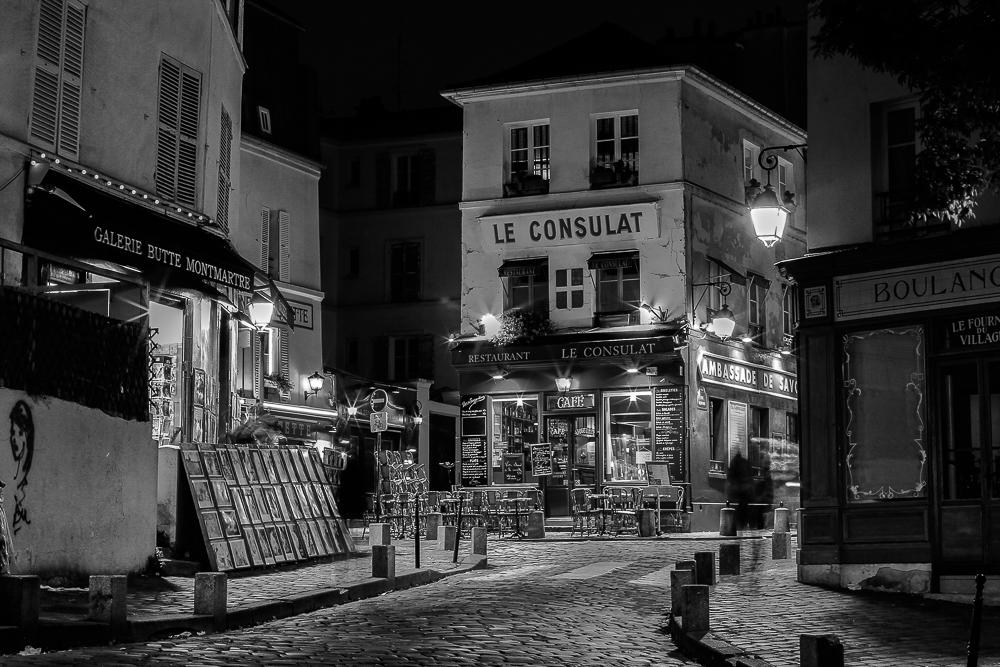 Abendstimmung Montmartre