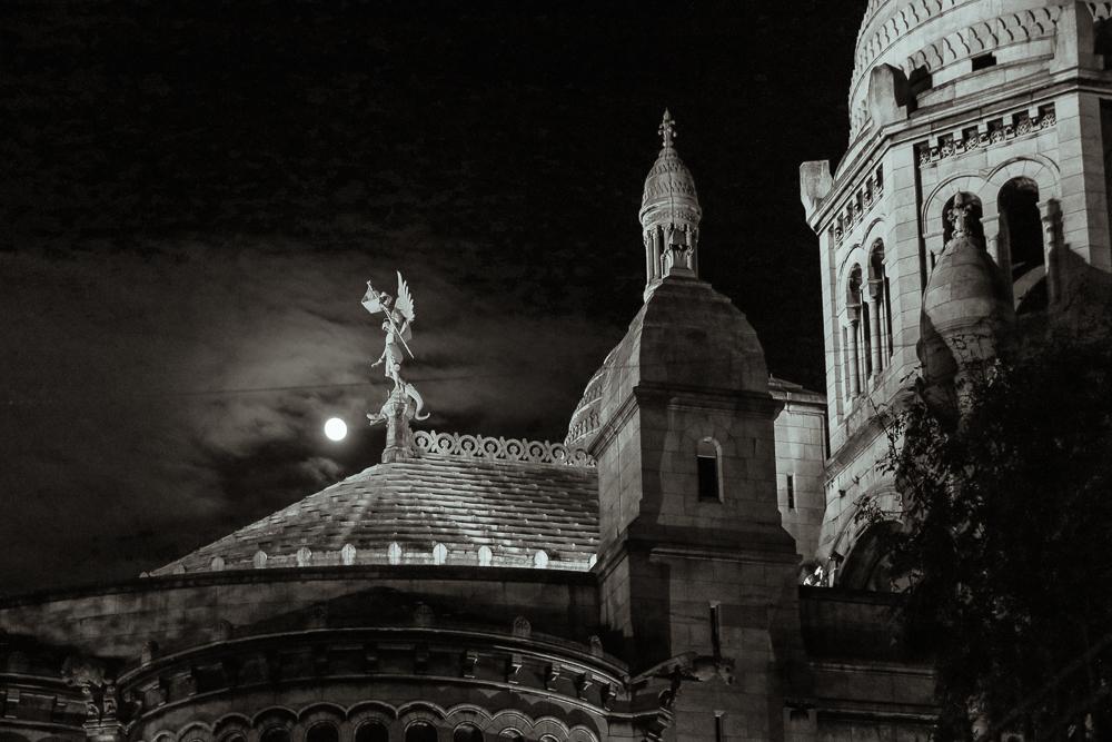 Sacré-Coeur Montmartre bei Nacht