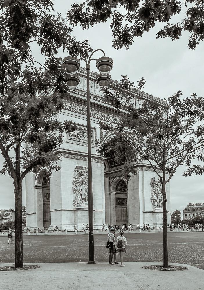 Triumpfbogen Place Charles de Gaulle