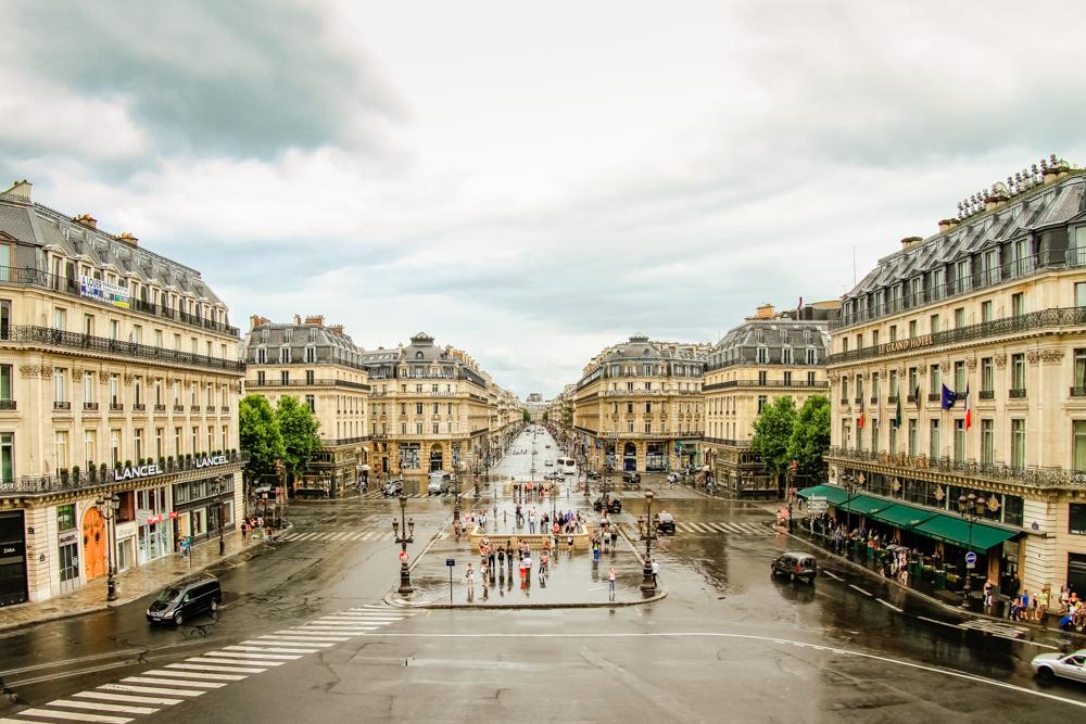 Blick von der Opéra Garnier