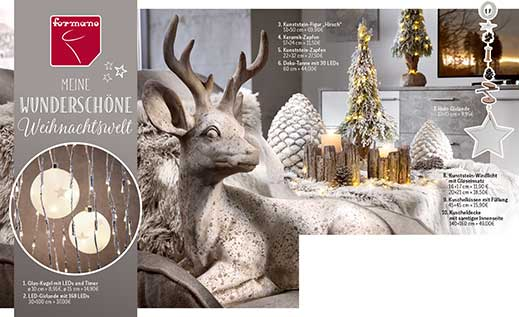 Titelbild formano Weihnachtsprospekt 2015