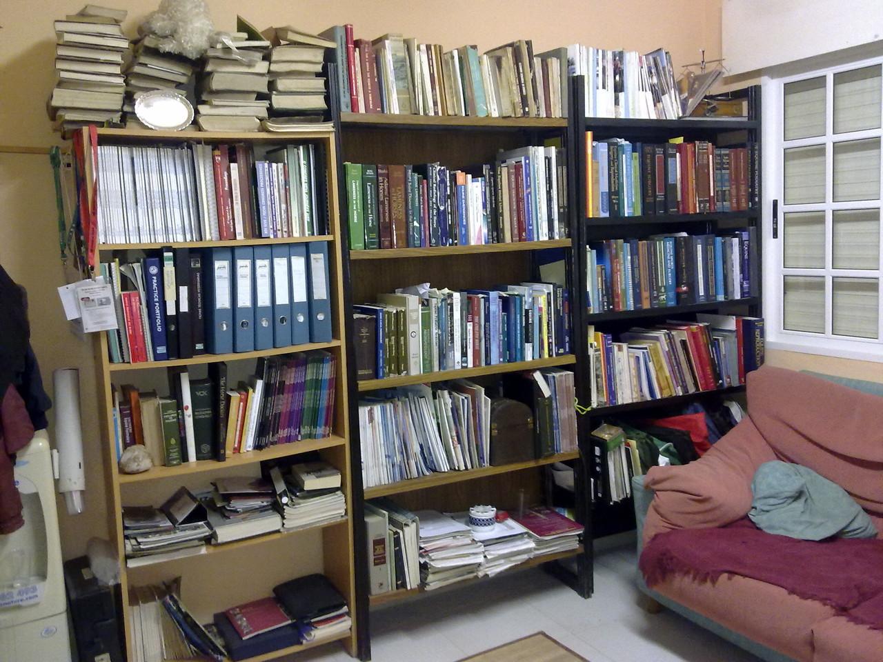 Vista parcial biblioteca