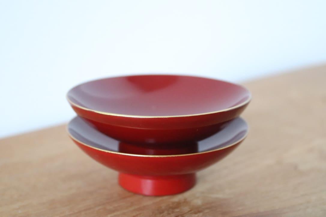 Sakazuki cup - Aizu nuri